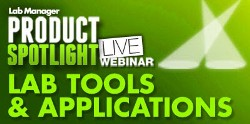 Lab Manager Magazine Product Spotlight live webinar series